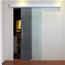 Puerta corredera de cristal satinado 205x77,5...
