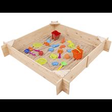Arenero infantil 150x150x25cm Outdoor Toys
