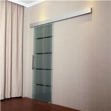 Puerta corredera vidrio y aleación de aluminio...