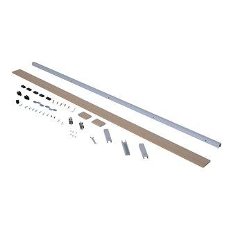 Kit para instalación de puertas deslizantes Homcom