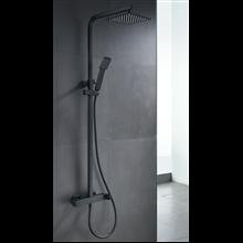 Columna de ducha negro mate Fiyi IMEX
