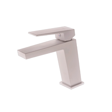 Grifo de lavabo de color blanco mate Art Imex