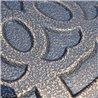 Soporte de sombrilla circular color bronce Outsunny