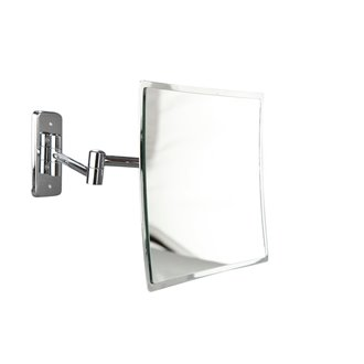 Espejo de aumento x3 cuadrado sin marco CherryBath