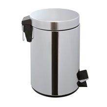 Papelera de baño 5 L de acero inox CherryBath