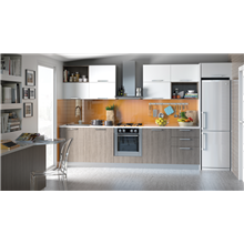 Mueble de cocina bajo con 3 cajones Tegler