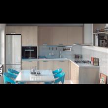 Columna de cocina para horno con 2 puertas Tegler