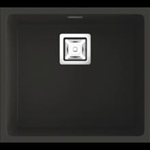 Fregadero de 1 cuba Brown 50 x 45cm Zie Poalgi