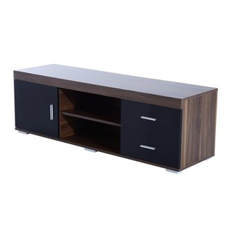Mueble de televisón 2 cajones 1 armario HomCom