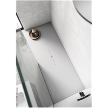 Plato de ducha Indo Blanco B10