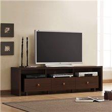 Mueble de televisón 3 cajones Iberodepot