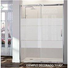 Mampara angular puerta corredera LM102 Kassandra
