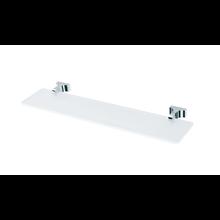 Repisa cristal y aluminio 55cm Toix Baño Diseño