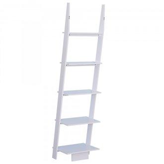 Estantería 5 baldas escalera HomCom