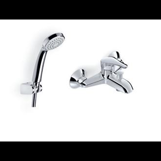 Grifo monomando de bañera y ducha Zoom Roca
