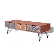 Mueble de televisón 3 cajones VidaXL