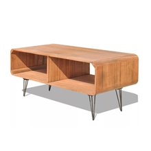 Mueble de televisón madera 2 estantes VidaXL