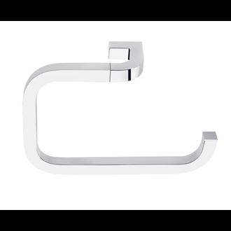 Toallero de aro grande cromo Nika Baño Diseño