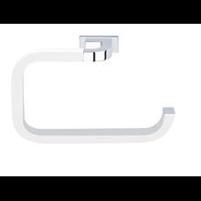Toallero de aro pequeño adhesivo Nika Baño Diseño