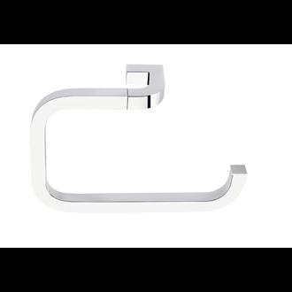 Toallero de aro pequeño cromo Nika Baño Diseño