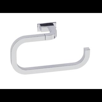 Toallero de aro pequeño cromo adhesivo Nika Baño Diseño