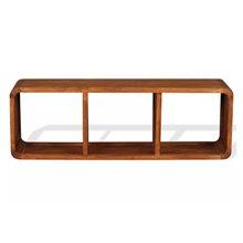 Mueble de televisón con estantes VidaXL