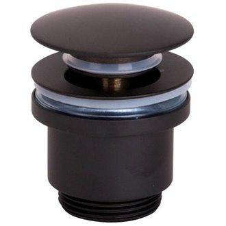 Válvula de desagüe negro mate Imex