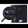 Chimenea eléctrica de pie 41x23,5x52cm Homcom