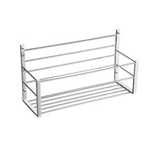 Esponjera rectangular 35cm latón Baño Diseño