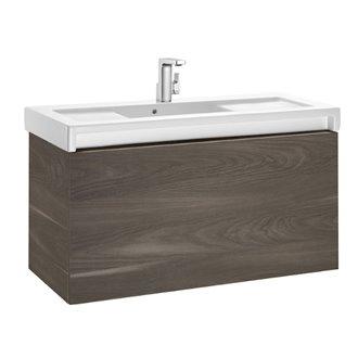 Mueble con lavabo 110cm yosemite Stratum-N Roca