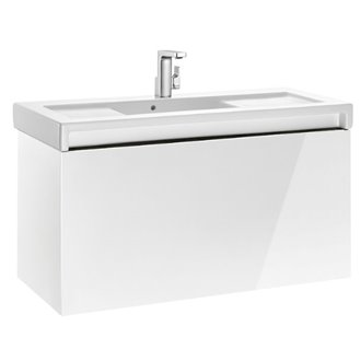 Mueble con lavabo 110cm blanco Stratum-N Roca
