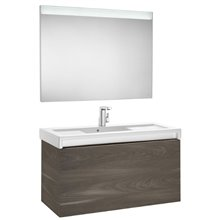 Pack mueble con lavabo 110 cm yosemite Stratum-N Roca