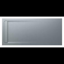 Plato de ducha 200x90cm cemento Aquos Roca