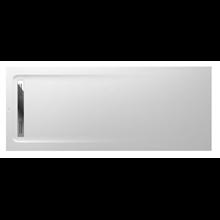 Plato de ducha 200x80cm blanco Aquos Roca