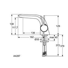 Grifo monomando lavabo Melange Ideal Standard