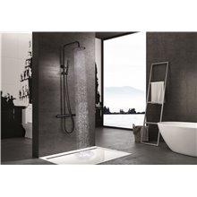 Columna de ducha Negro Mate Dinamarca Imex