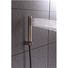 Grifo de bañera-ducha Negro Oro Rosa Olimpo Imex