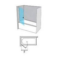 Mampara frontal abatible AC110-70