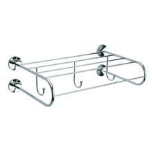 Toallero estanteria con perchas Cloe Baño Diseño