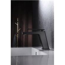 Grifo lavabo Negro Mate Suecia Imex
