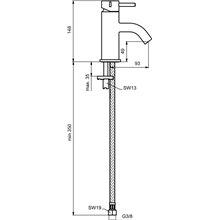 Grifo monomando 5L lavabo Mara Ideal Standard