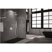 Conjunto de ducha empotrada Blanco Mate Milos Imex