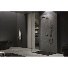 Conjunto de ducha Negro Oro Rosa Milos Imex