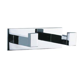 Percha doble adhesivo Luk Baño Diseño