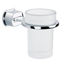 Portacepillos de cristal adhesivo Pop Baño Diseño