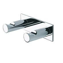 Percha doble suspendida Dual Baño Diseño