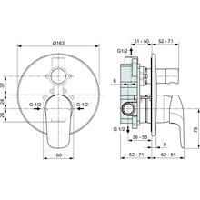 Pack empotrable exterior baño-ducha Ceraflex Ideal Standard