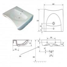 Lavamanos ergonómico movilidad reducida Timblau