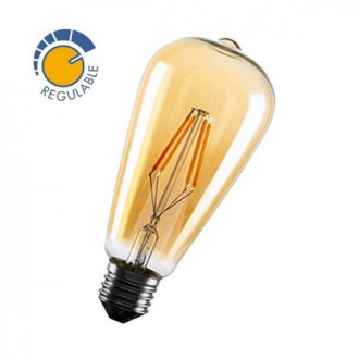 Bombilla con filamento LED EDISON OLD de 6W