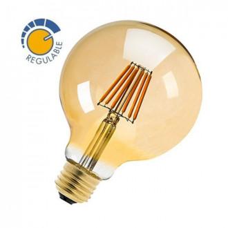 Bombilla con filamento LED OLD GLOBO de 6W